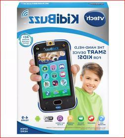 VTech KidiBuzz Hand-Held Smart Device Phone For Kids - Black