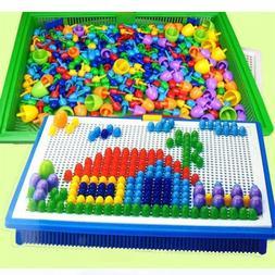 Kids Educational Nail Games Intelligent Beads Children Piece