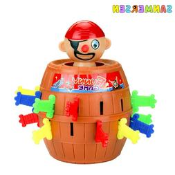 Kids Funny <font><b>Toys</b></font> Pirate Barrel Novelty <f
