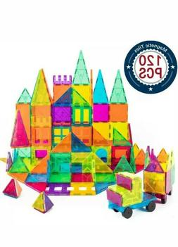 Cossy Kids Magnetic Block Set Toys 120 Pcs Magnet Building T