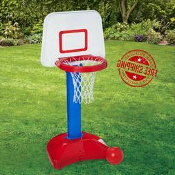 Kids Toy Basketball Hoop Toys Indoor Outdoor Adjustable Mini