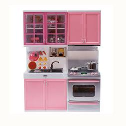 Kitchen Playset for Girls Kids Pretend Play Toys Toddler Kit