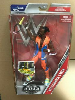Kofi Kingston - WWE Elite 52 Mattel Toy Wrestling Action Fig
