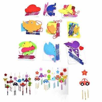 1 Pcs DIY Campanula Wind Chime Kids Manual Arts and Crafts T