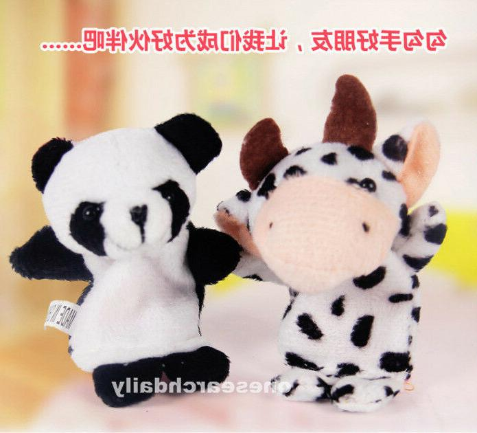 10 Pcs Puppets Cloth Doll Educational Toy