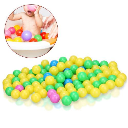 100Pcs Ocean Colorful Kid Baby Pit Toy Gift
