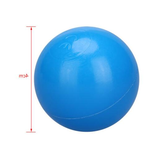 100Pcs Ball Colorful Balls Kid Secure Baby Pit Swim Toy
