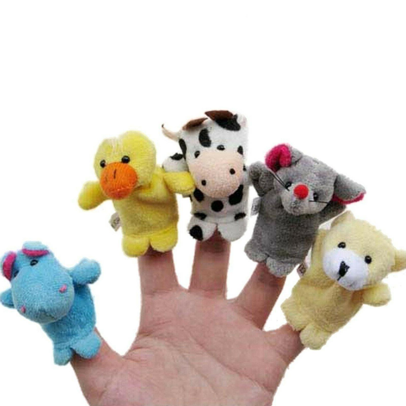 10pcs Toys Cloth Dolls Puppets Developmental Toy