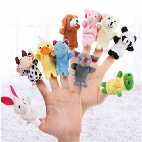 10pcs Animal Toys Cloth Developmental
