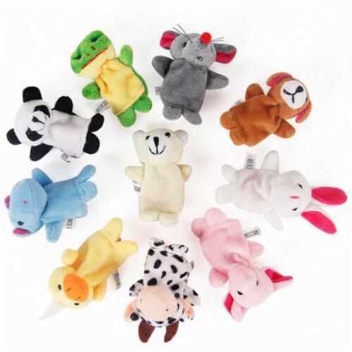10pcs Fingertip Toys Cloth Developmental