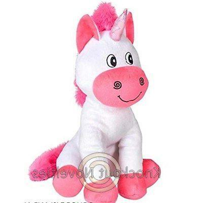 """12"""" Unicorn Stuffed Animal Play Fun Toy"""