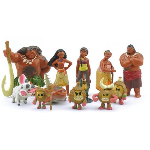 12pcs Set Pua Toys