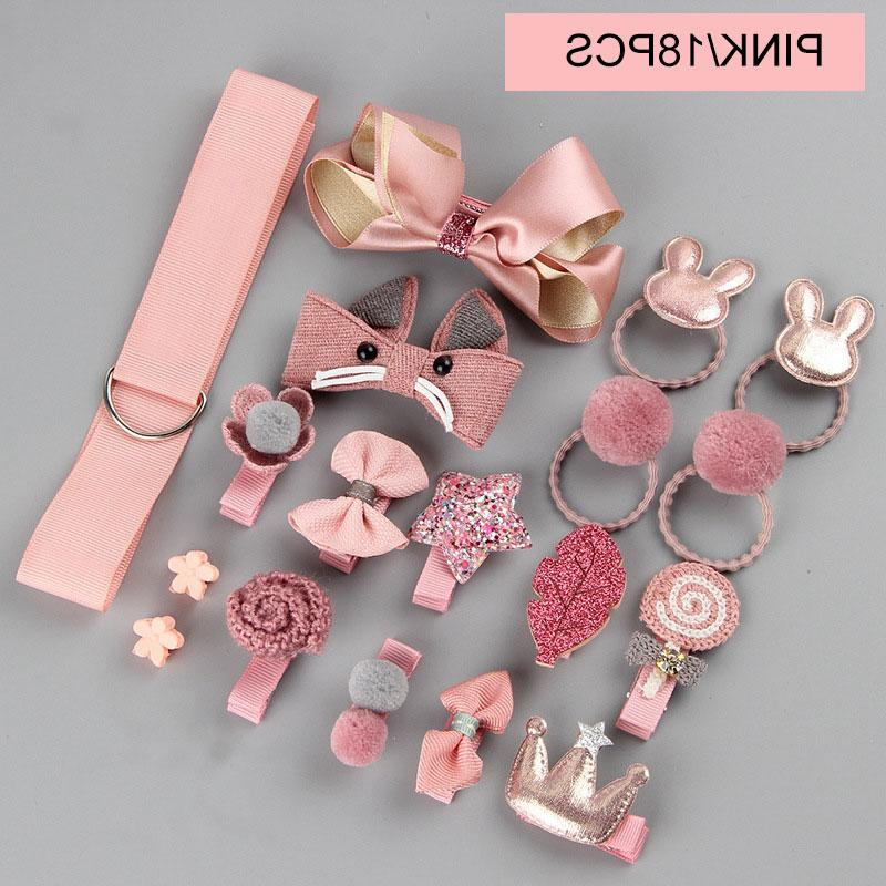 18pcs/<font><b>set</b></font> <font><b>Girls</b></font> Toys Hairdress Beauty pretend <font><b>play</b></font> toys Children Beauty