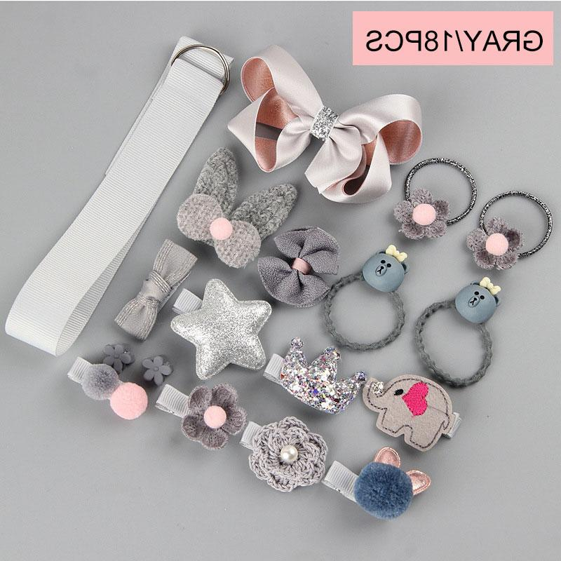 18pcs/<font><b>set</b></font> <font><b>Girls</b></font> Toys Princess Hairdress Beauty Hairpi pretend <font><b>play</b></font> Beauty