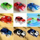 1PC Kids Electronics Car for Magic Track Toys Flashing Light