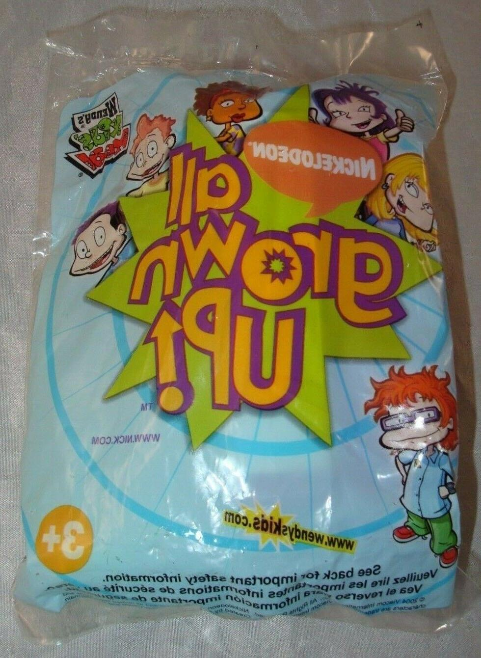 2004 Wendy's Kids Meal Toy Nickelodeon All Grown Up! Purple