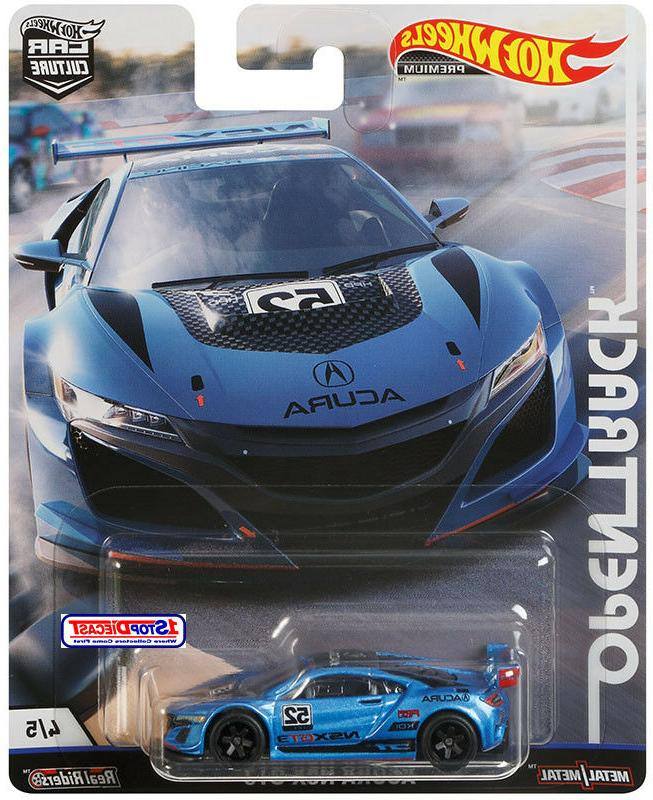 Open track Car Culture set 5 modelos skyline mercedes audi 1:64 Hot Wheels fpy86