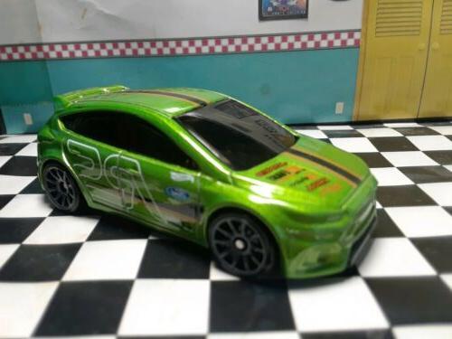Hot Wheels Focus RS Ecoboost Green Loose Car 1/64