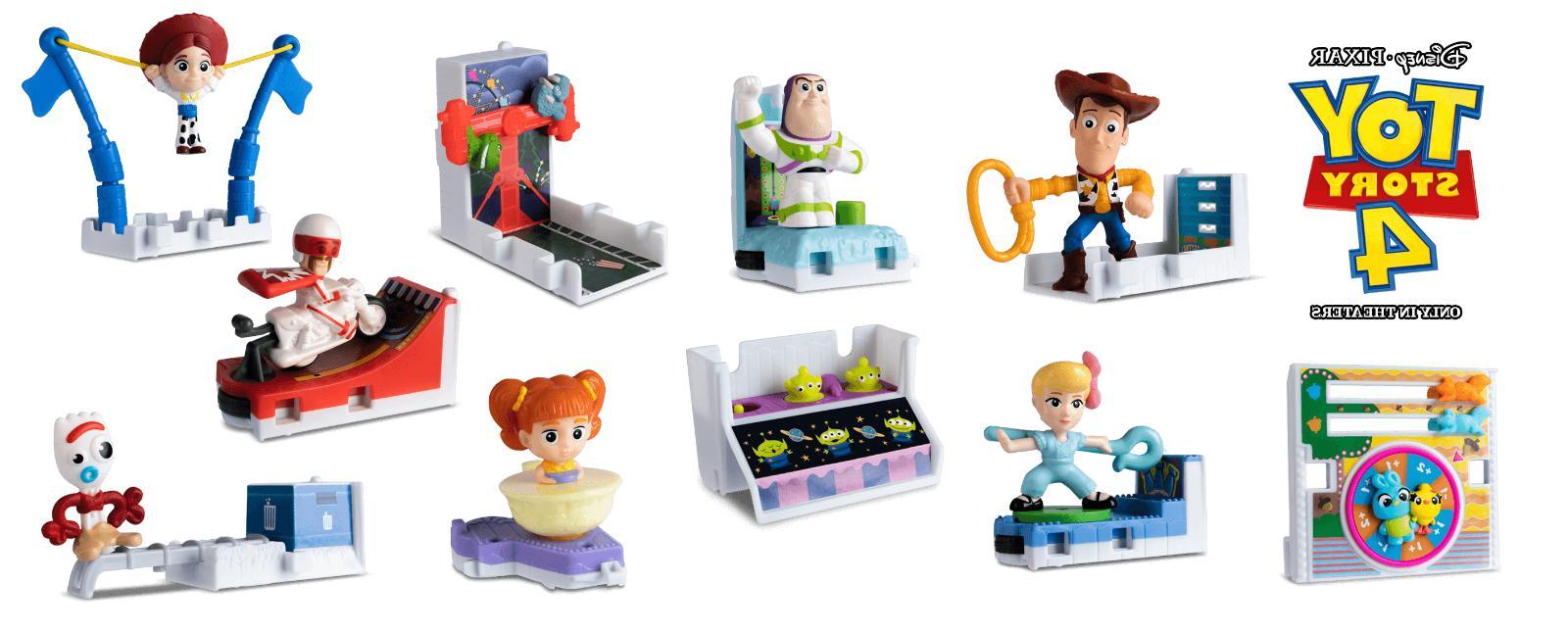 2019 mcdonald s toy story 4 happy