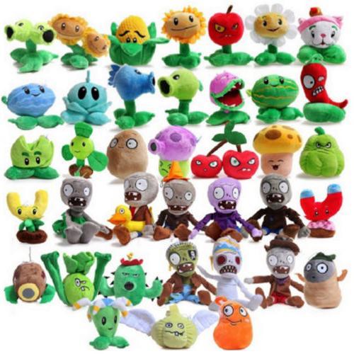 US 15-20cm Plants vs Zombies2 Stuffed Soft Plush Toys Gift