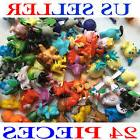 24Pcs Cute Pokemon Mini Pocket Random Action Figures Hot Kid