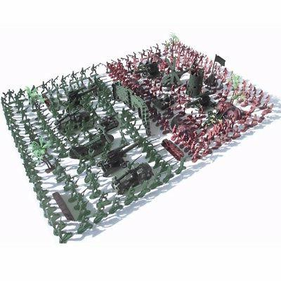 270 Playset Plastic Toy Men Accessories