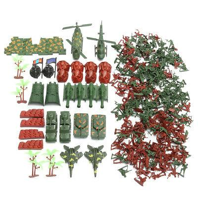 270 pcs Military Playset Plastic Toy Men 4cm Accessories