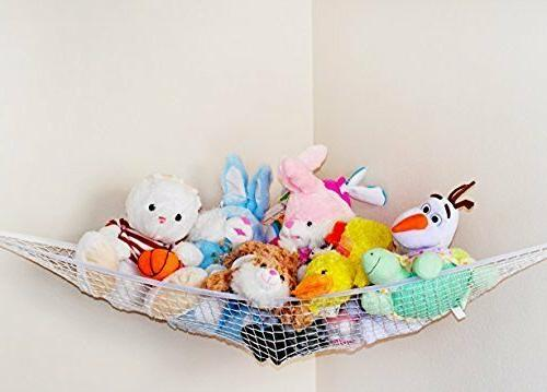 2pcs Net Animals Kids Storage