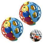 2PK Baby Einstein Baby Bendy Sound Ball Rattle/Activity Toy/