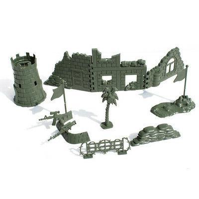 307 pcs/set Plastic Army Men Figures