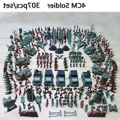 307 pcs set military playset plastic toy