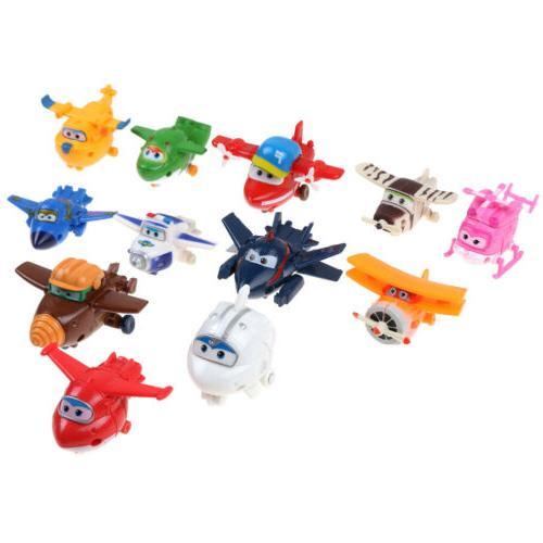 4/8/12Pcs Korea Animation Super Mini Characters Toys