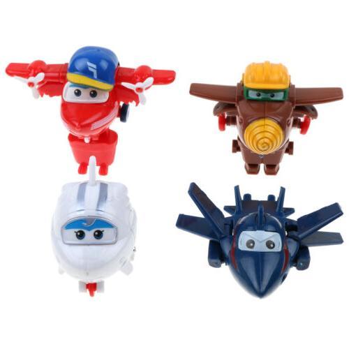 4/8/12Pcs Super Plane Mini Characters