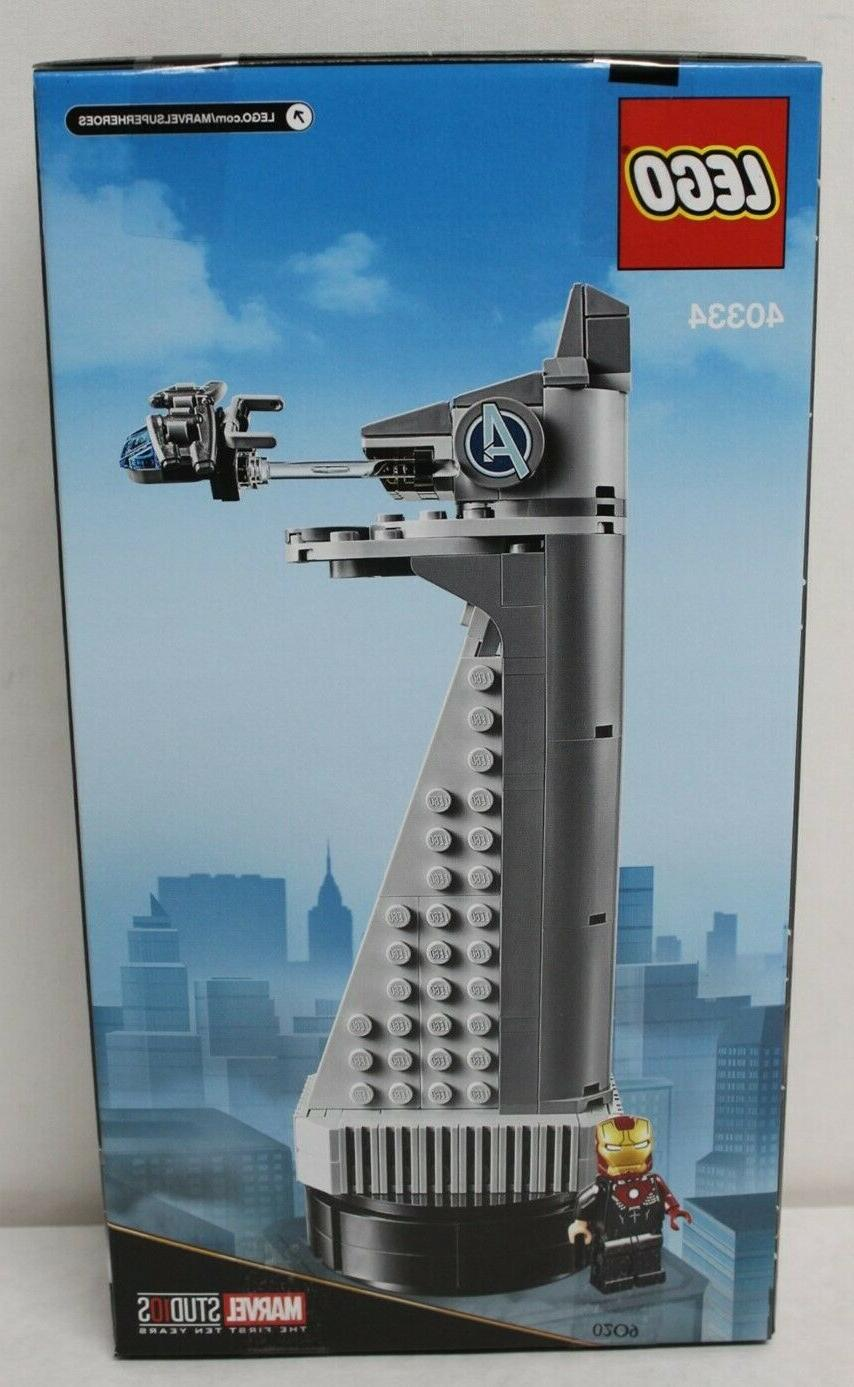 LEGO 40334 Marvel Avengers Tower 211pcs New in Hand Free Shipping