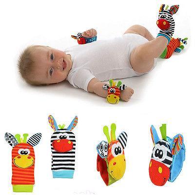 4pcs set cute animal infant baby kids