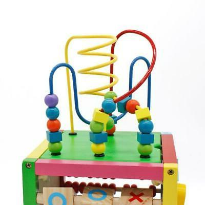 5 Cube Toys Baby Wooden Sorter
