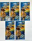 """5 Jumbo Toy Story stickers 4.75"""" x 2.75"""" party favors teache"""