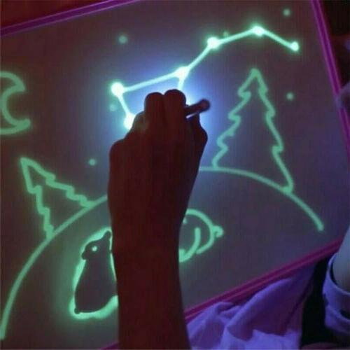 A5 With Light Fun And Developing Drawing Board Kids Educational