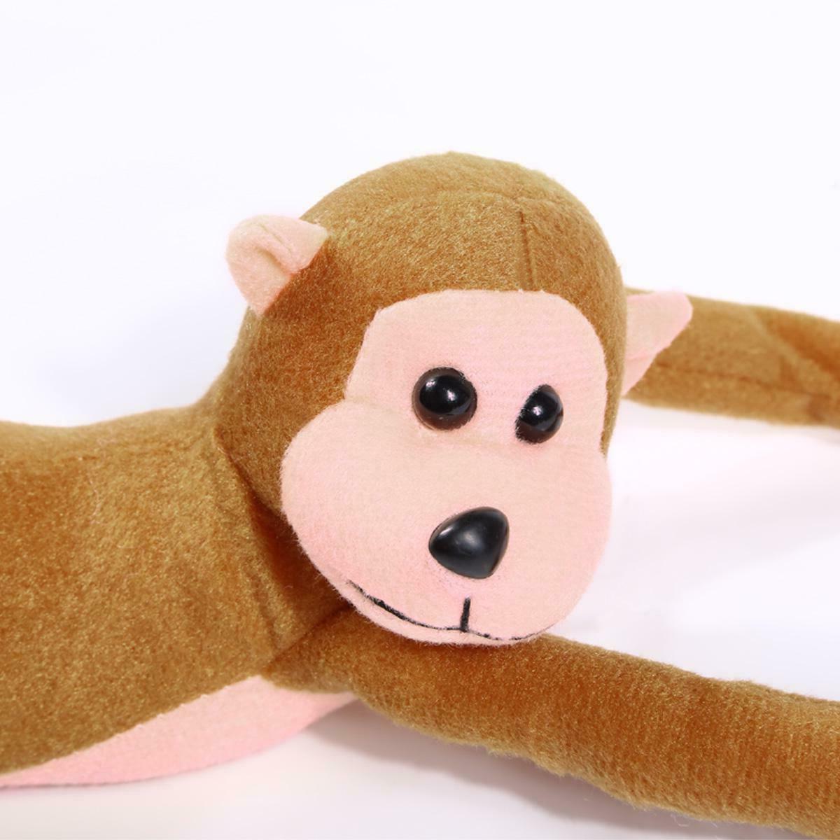 60cm Long Arm Hanging Monkey Baby Toys Stuffed Animals Doll