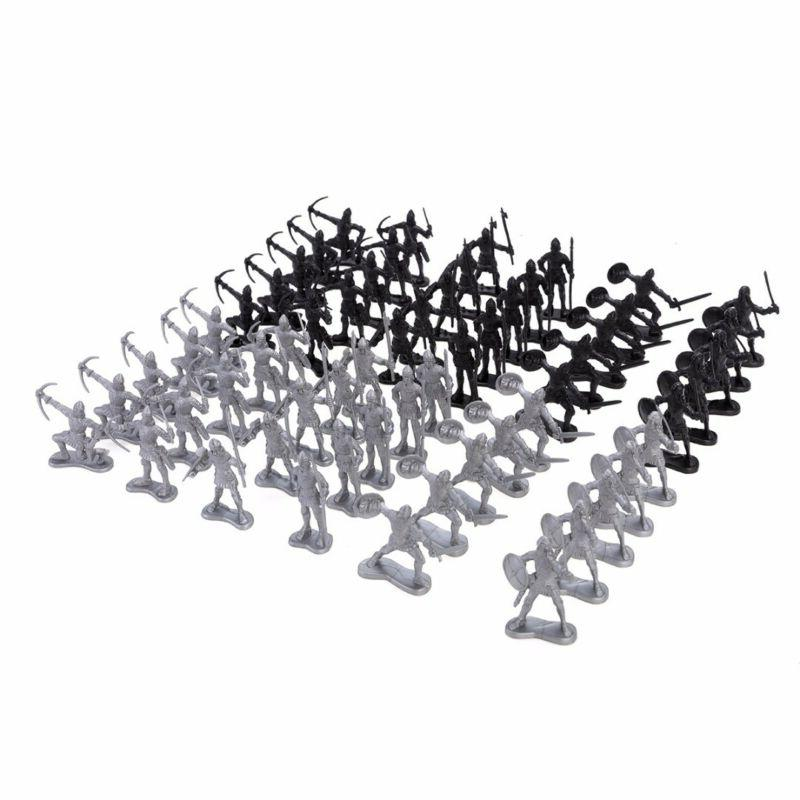 60Pcs Soldiers Toy Playset Gifts