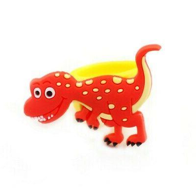US6pcs/set Dinosaur Ring Sunshade Finger Toys Kids Birthday