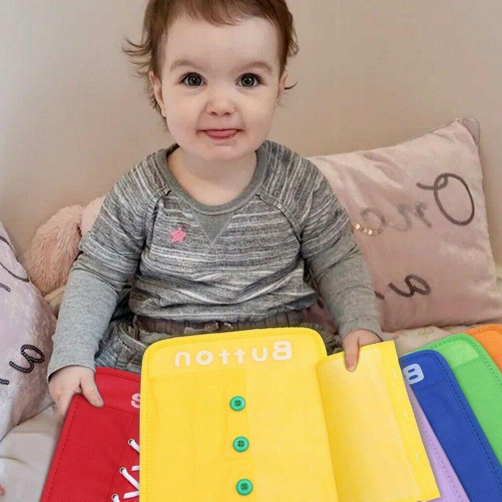 colorful baby early learning kid basic life