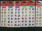 72 Pokemon Sticker Set Flareon Vulpix Vileplume Oddish Gloom