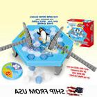 Ice Breaking Save The Penguin Trap Board Game Party Family K
