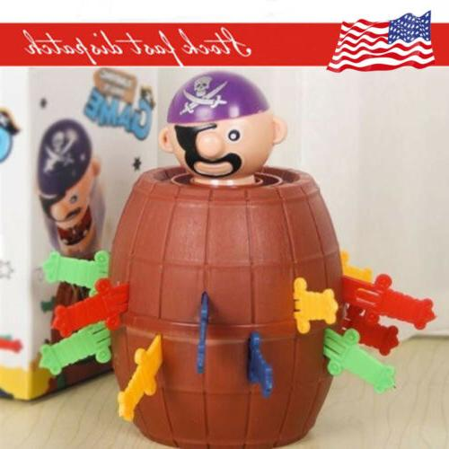 Kids Super Pop Up Toy Jumping Pirate Board Game Lucky Funny