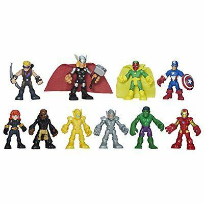 10 Playskool Heroes Marvel Super Hero Adventures Ultimate Super Hero Set