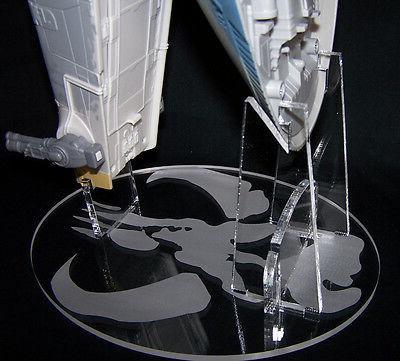 Acrylic display stand for Hasbro Deluxe Slave I Amazon TRU exclusive Boba Jango