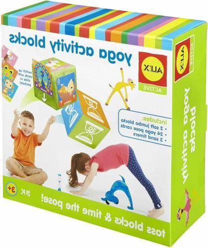 active yoga activity blocks