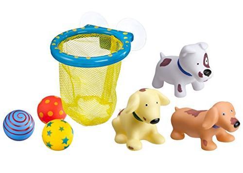 alex toys dirty dogs hoops tub bath
