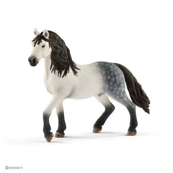 Schleich Andalusian Stallion Horse Farm Life Figure Toy Figu
